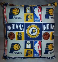 Pacers Pillow Indiana Pacers Pillow NBA Handmade in USA