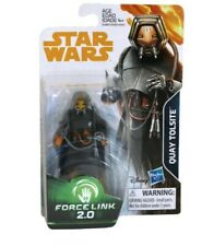 Quay Tolsite, Star Wars: Solo Force link 2.0  Figure Hasbro Disney NEW, Non-Mint