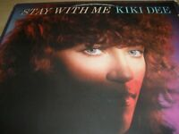 Kiki Dee Stay With Me Vinyl Album & Picture Inner 1978 BXL1-3011 Made In USA