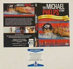 Michael Phelps Signed DVD Cover Autographed AUTO Beckett BAS COA Olympic Swimmer