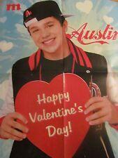 Austin Mahone, Four Page Foldout Poster