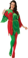 Red Green Elf Tunic Mens Womens Costume Standard Size NEW Christmas Unisex