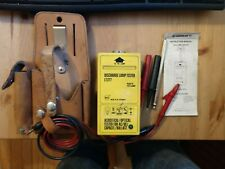 Greenlee 5715 Gas Lamp Tester And Pouch All Probes Instructions