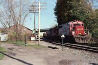 SOO LINE Railroad Locomotive 767 HORNELL NY Original 2011 Photo Slide
