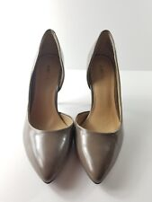 Just Fab Womens Taupe High Heels Pumps Shoes Size 7.5