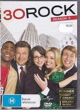 30 Rock - Season 2 - DVD (Brand New Sealed)  Region 4 PAL