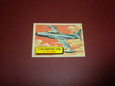PLANES trading card #18 TOPPS 1957 Army Navy Air Force AIRPLANES OF THE WORLD