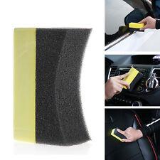 10Pcs Car Professional Tyre Tire Dressing Applicator Curved Foam Sponge Pad