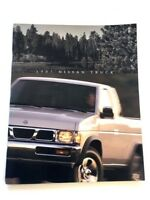 1997 Nissan Truck 30-page Deluxe Sales Brochure Catalog Book King Cab