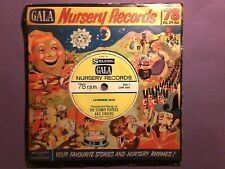 "Gala Nursery Records - Lavenders Blue, The Selmer Players (7"" 78rpm) p/s LYN1693"