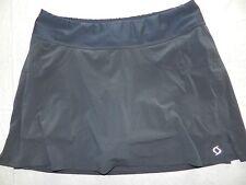 WOMENS SKORT (shorts under skirt) athletic = MOVING COMFORT = SIZE LARGE = WH36