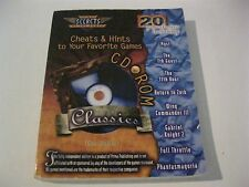 Prima's Secrets of the Games Cheats & Hints CD-ROM Classics Strategy Guide Book