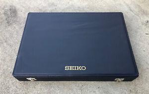 SUPER RARE… SEIKO Watch / Clock Salesman Sample Presentation Case BRAND NEW