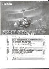 Hirobo XRB SR SkyRobo Lama User Manual