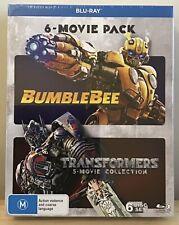 Bumblebee and Transformers 6 Movie Pack Blu-ray Region B