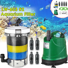Fish Tank External Canister Aquarium Filter with Pump For Below 0.6m Fish Tank