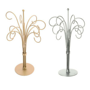 32cm Distressed Effect Tabletop Bauble Display Stand | Choice of Colour