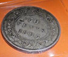 1885 Newfoundland 50 Cents VF-20 No Tax!