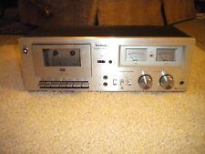 Vintage Technics Rs-M6 Stereo Cassette Deck