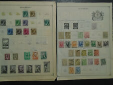 LUXEMBOURG COLLECTION ON PAGES MH/USED STAMPS