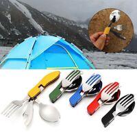 Opener Fork/Spoon/Knife Folding Forks Outdoor Tableware Camping Pocket Kits
