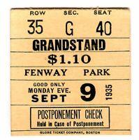 *VINTAGE 1935 WRESTLING TICKET STUB-FENWAY PARK-DANNO O'MAHONY/ED DON GEORGE