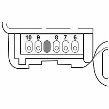 HVAC Heater Blend Door Actuator SANTECH STE fits 02-06 GMC Envoy XL 4.2L-L6