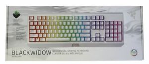Razer Blackwidow Mercury Mechanical Gaming Keyboard RGB Chroma Green Switch