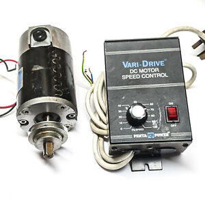 Leeson 90V dc motor and speed controller