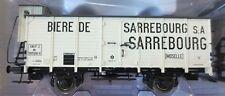 Brawa 49069 Gedeckter Güterwagen G10 Biere de Sarrebourg SNCF Ep. III H0 DC Neu