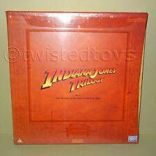 1996 LUCASFILM INDIANA JONES TRILOGY WIDESCREEN EDITION LASER DISC LASERDISC PAL