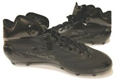 Adidas Adizero 5-Star 6.0 Mid Football Lacrosse Men Cleat Black BW0698 Sz 15 New