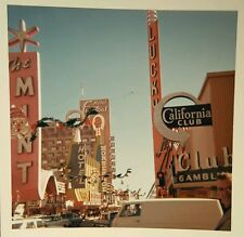 VINTAGE '65 KODAK DOWNTOWN LAS VEGAS NV FREMONT HORSEHOE CASINO VERNACULAR PHOTO