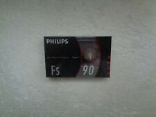 Vintage Audio Cassette PHILIPS FS 90 * Rare From 1990 *