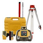 Topcon RL-H5A Construction Rotary Laser Level with LS-B10 & LS-80L Receiver