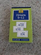 School Zone Division 0-12 Flash Cards Complete