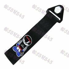 TOW STRAP FOR FRONT or REAR BUMPER JDM MUGEN RACING HIGH STRENGTH TOWING HOOK