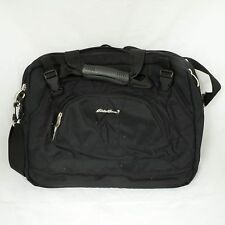 Eddie Bauer Computer Bag Messenger Laptop Cloth Briefcase Pockets School Bag