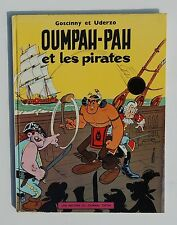 UDERZO. Oumpah-pah et les Pirates. Dargaud 1962 dos plastifié.