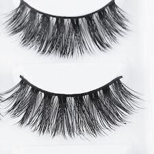 5x 3D Lashes Mink Natural Thick False Fake Eyelashes Eye Lashes Makeup Extension