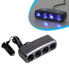 4 In 1 Car Cigarette Lighter LED Car Charger For 12V Device Charger For Phones L