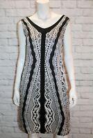 Gabriella Frattini Brand Marguille Dress Black Shift Dress Size 6 BNWT #ST108