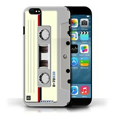 STUFF4 Case/Cover for Apple iPhone 6S/Retro Tech/Compact Cassette Tape