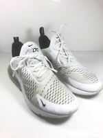 Nike Air Max 270 White Black AH8050-100 Mens Size 9.5 No original box
