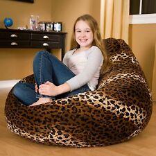 Cheetah Pattern Bean Bag XXXL Without Bean Free Shipping