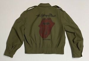 "Vintage ""The Rolling Stones"" 1981 Tour Ike Jacket"