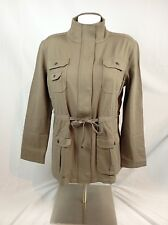Tommy Bahama Voyage Knit Safari Jacket Brown, Size L MSRP $198 (TB-6)