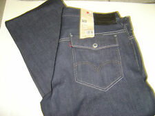 NEW MENS LEVIS 569 LOOSE STRAIGHT FIT DARK WASH JEANS SIZE 30 X 30 $74
