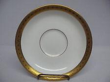 """Royal Worcester AMBASSADOR Gold - Odd Saucer 5-3/4"""""""