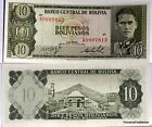 BOLIVIE billet neuf 10 Pesos GERMAN BUSCH 1962 Pick 154 montagne de POTOSI